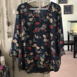 Maurices brand 'perfect blouse' // size XXL